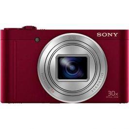 Sony CyberShot DSC-WX500 červený