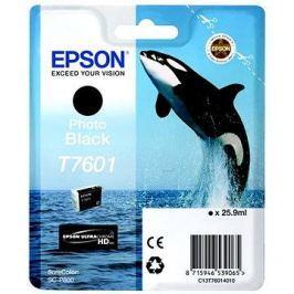 Epson T7601 fotografická černá