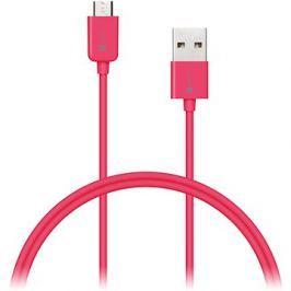 CONNECT IT Colorz Micro USB 1m růžový