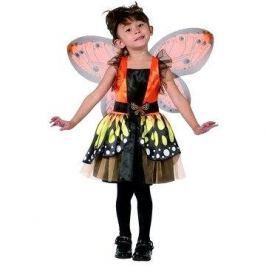 Šaty na karneval - Motýlí víla vel. XS