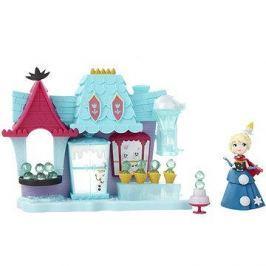 Frozen mini panenka - Hrací sada Elsa a Ledový obchod