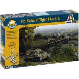 Italeri Fast Assembly 7505 tank – Pz. Kpfw. VI Tiger I Ausf. E