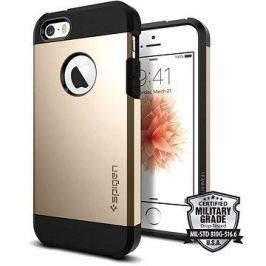 SPIGEN Tough Armor Champagne Gold iPhone SE/5s/5