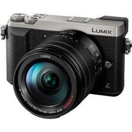 Panasonic LUMIX DMC-GX80 stříbrný + objektiv 14-140mm